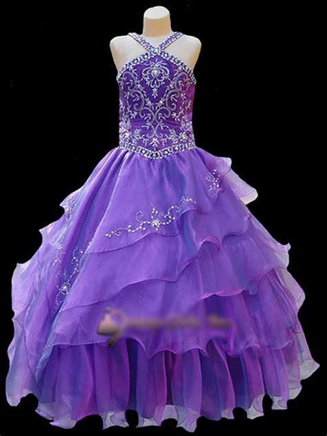 pageant flower girl dress fashion