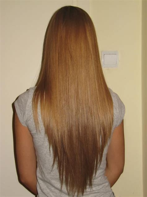 Hair Style V Cut