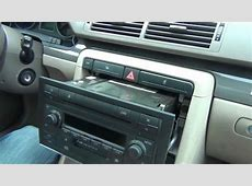 Audi A4 20022005 install of iPhone, iPod and AUX adapter