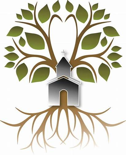 Pastor Roots Clip Clipart Church Tree Trees