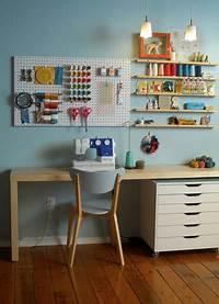 sewing room designs Sewing Room Ideas - The Seasoned Homemaker