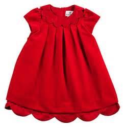 eiseman infant baby girls christmas red velvet dress with flowers granddaughters pinterest