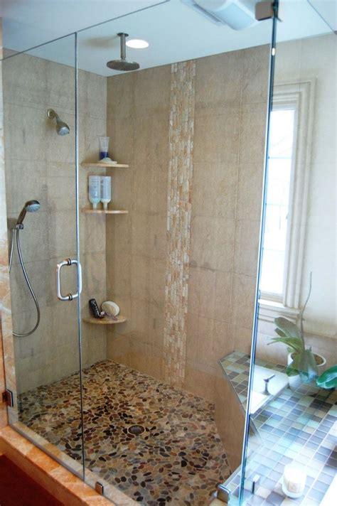 amazing bathroom pebble floor tiles ideas  pictures