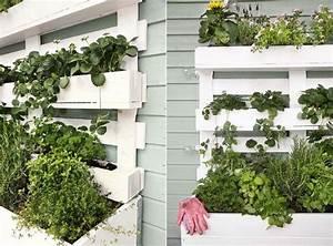 Comment Remplir Une Grande Jardinière : fabriquer une jardini re verticale en palette tutos et id es inspirantes en photos pour l ~ Melissatoandfro.com Idées de Décoration