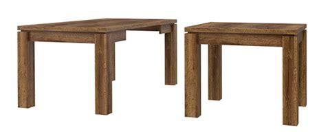 table de repas carree extensible table de repas carr 233 e extensible abro 3 chene noble