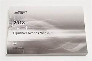 2018 Chevrolet Equinox Owner U0026 39 S Manual