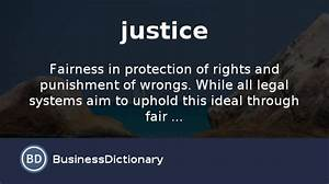 what is justice definition and meaning With définition parquet justice