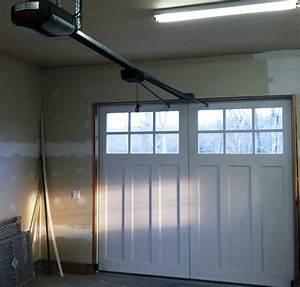 carriage door opener With automatic carriage garage doors