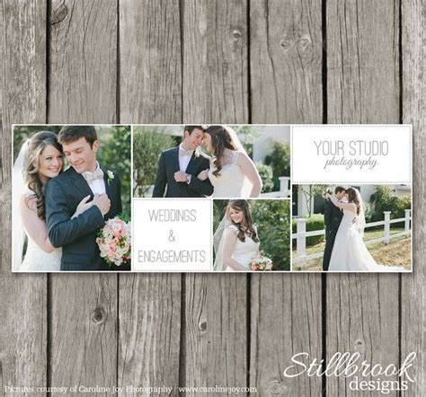 photography facebook timeline template wedding cover