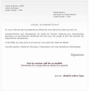 Lettre Deces : modele lettre suite a deces document online ~ Gottalentnigeria.com Avis de Voitures