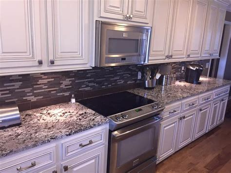 wood backsplash kitchen 1127 best countertops images on granite 1127