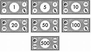 free printable monopoly money black and white kids in With monopoly money templates