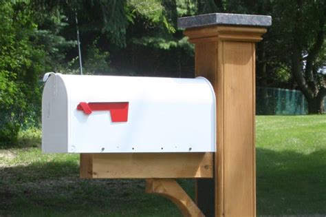 17 best images about mailbox posts on white