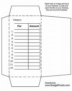 cash envelope printout template budgeting pinterest With envelope budget system template