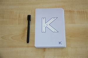 share With dry erase letter tracing