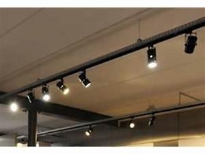 Rail De Spot : projecteur ovale sur rail 53w 4451 avec inclinaison 180 contact chm led ~ Dallasstarsshop.com Idées de Décoration