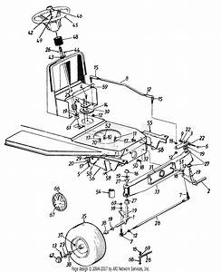 Mtd 13a747gf062  1997  Parts Diagram For Steering  U0026 Axle Assembly  U0026 Wheels  Front