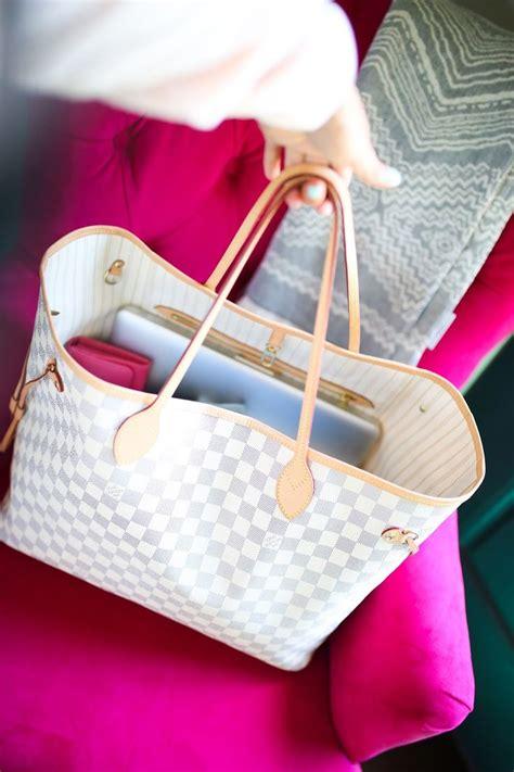 emily gemma blog  sweetest  blog louis vuitton neverfull gm damier azur bag review
