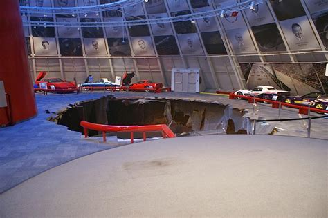 corvette museum sinkhole dirt the ncm sinkhole opened exactly one year ago today lsx