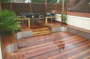 Deck Stairs Ideas by Balau Decking New Stock