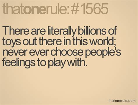 Quotes About Playing With Peoples Emotions