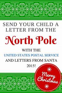 2015 letters from santa with usps send your child a for Postmarked letter from santa