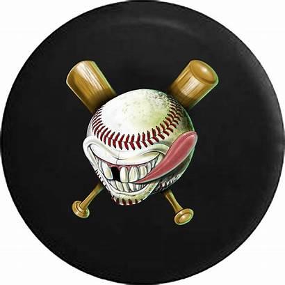 Bat Tire Baseball Funny Spare Tirecoverpro Softball