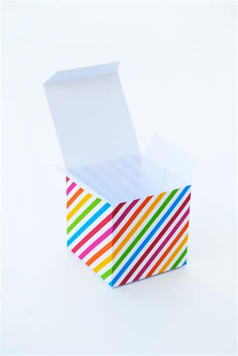 geometric gift boxes   printable