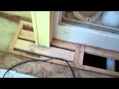 mobile home floor repair supply nc  youtube