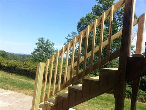 How To Repair Your Deck Railing And Stairs