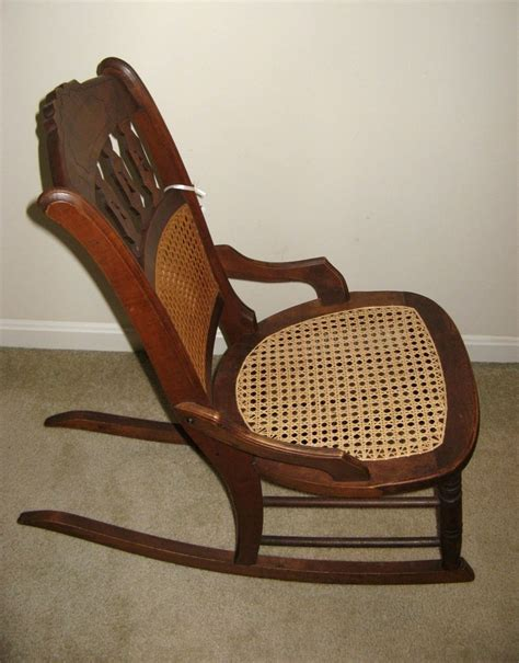 Recane A Chair Seat by Wood And Rocking Chair Collectors Weekly