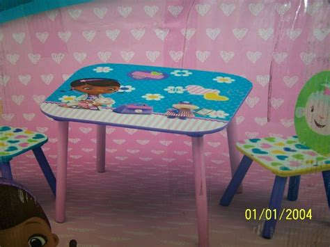doc mcstuffins kids table and chairs after thanksgiving