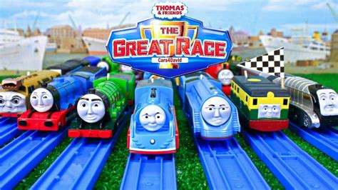 Thomas And Friends The Great Race Compilation| Trackmaster