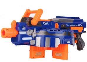 Electric Toy Gun Toy Guns 48pcs Soft Bullet Big Gun Outdoor Toys Kids Children's Birthday Gift