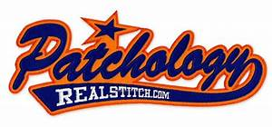 patchology line connected tackle twill script tail With tackle twill letters wholesale