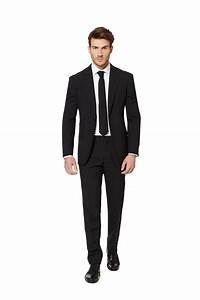Men's Black Suit | The Just a Black Suit