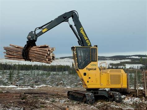 Material Handling (grapple equipped) | Tigercat | Forestry ...
