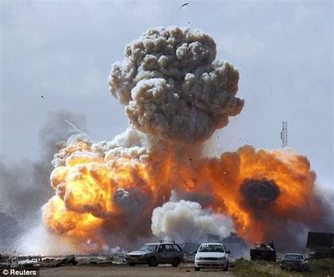 Pictures: Allied forces attack Libya 2011   Metro UK