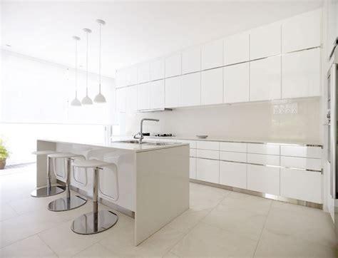 30 Modern White Kitchens That Exemplify Refinement : 30 Contemporary White Kitchens Ideas