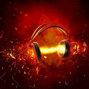 headphones music 1024x1024 wallpaper – Entertainment Music ...