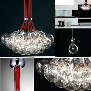 Lights red cord idle max pendant lamp ceiling hanging