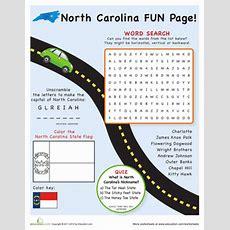 North Carolina Fun Facts  Worksheet Educationcom
