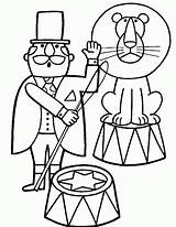 Circus Coloring Pages Coloring2print sketch template