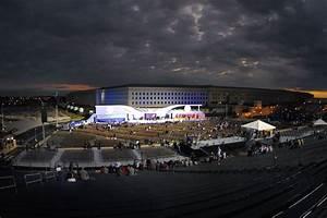 File:Pentagon 911 Memorial Dedication at Sunrise.jpg ...