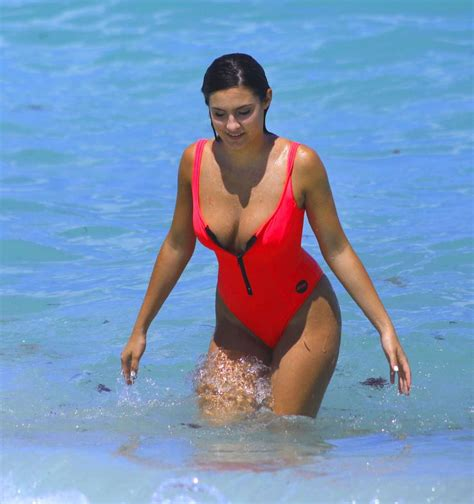 red swimsuit tao wickrath in red swimsuit 2017 05 gotceleb