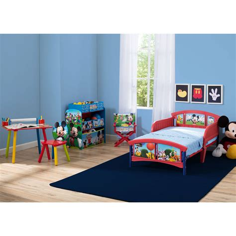 Mickey Mouse Bedroom Furniture Decorating Ideas