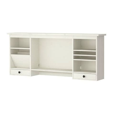 desk add on shelf hemnes add on unit for desk white stain stains middle