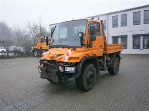 Used Mercedes-benz -unimog-u-400 Utility Tool Carriers