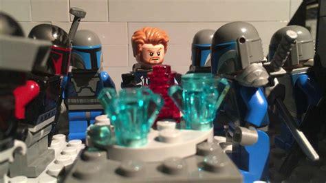 Lego Star Wars Mandalorian Attack Stop Motion English