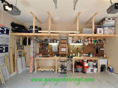 wooden garage book shelf wood garage shelving